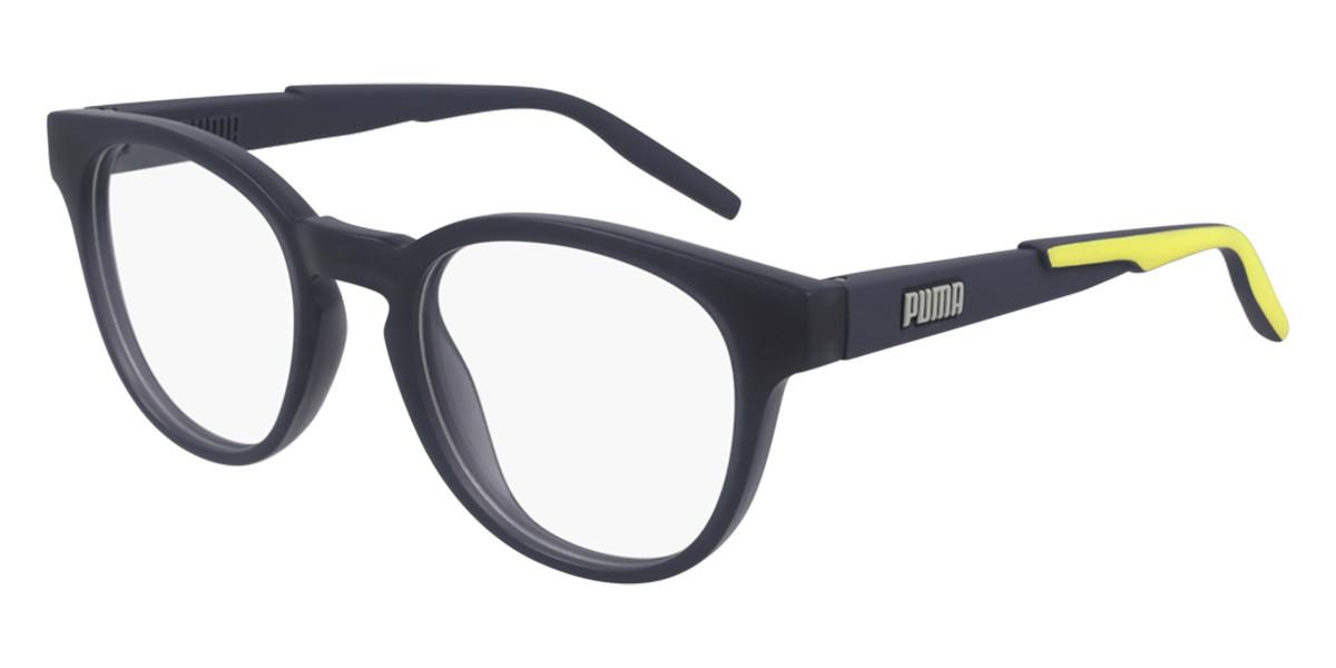 Puma PU0304O 004 Men's Glasses Grey Size 51 - Free Lenses - HSA/FSA Insurance - Blue Light Block Available