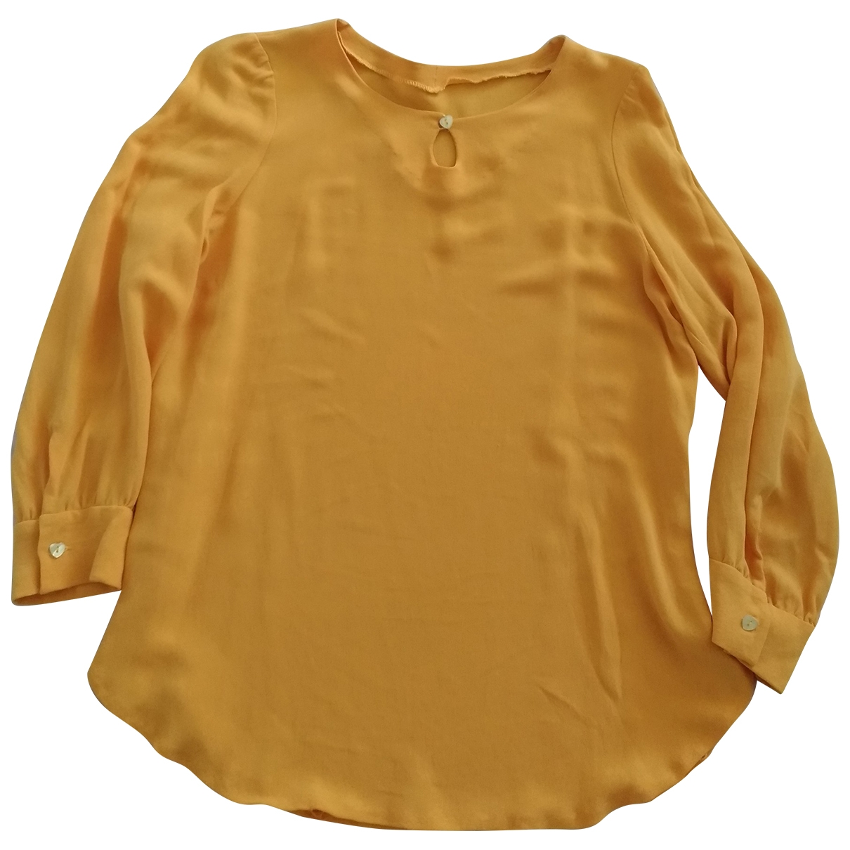 Non Signé / Unsigned \N Yellow  top for Women S International