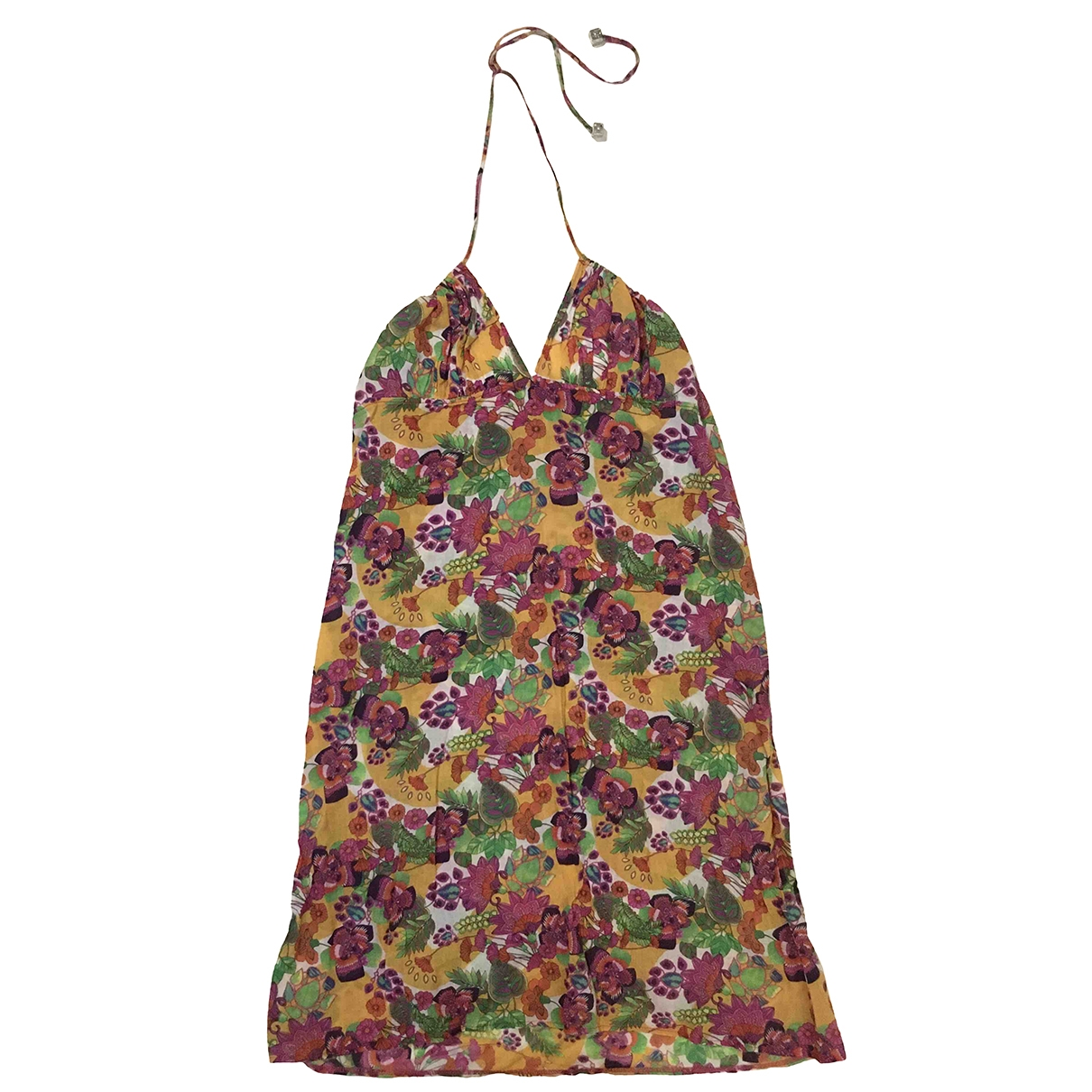 Dior - Robe   pour femme en coton - multicolore