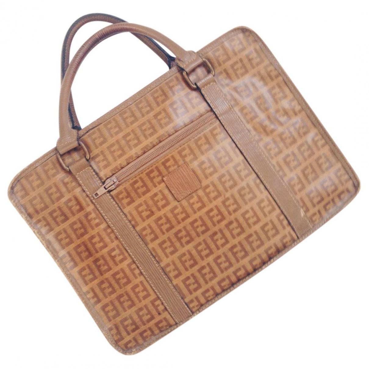 Fendi \N Camel Cloth handbag for Women \N