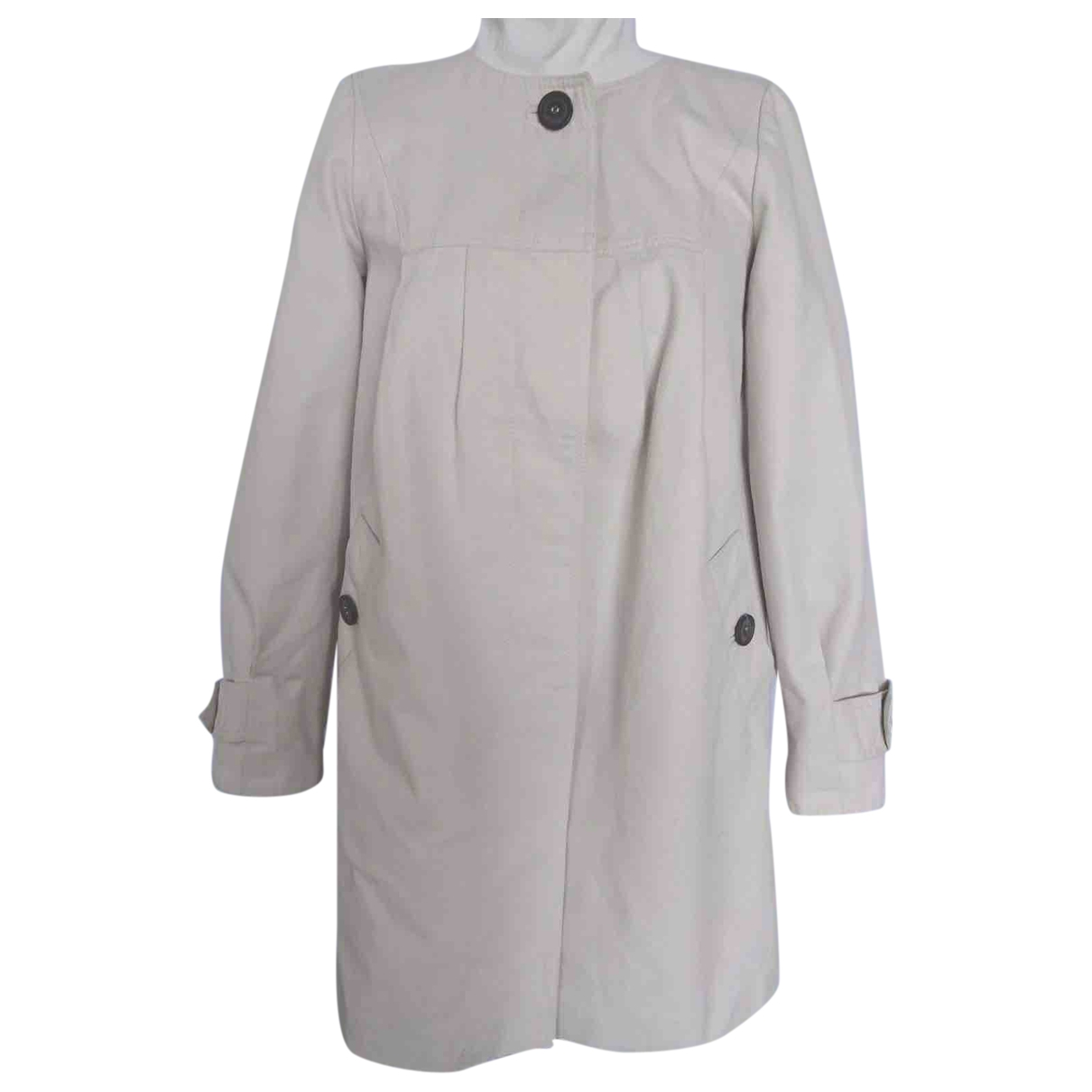 Comptoir Des Cotonniers - Veste   pour femme en coton - blanc