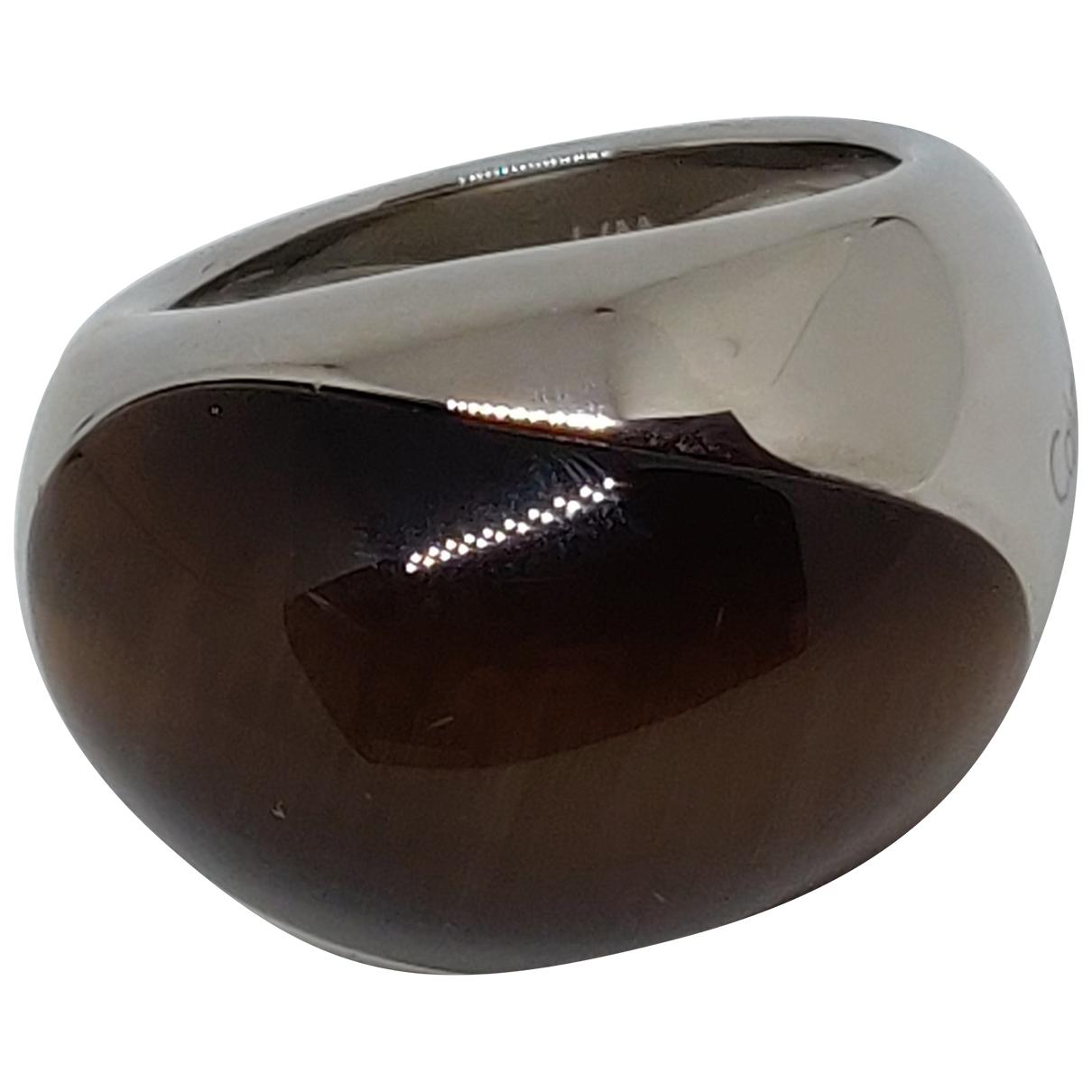 Calvin Klein - Bague   pour femme en acier - argente