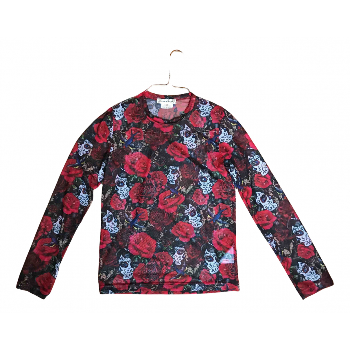 Comme Des Garcons N Red  top for Women S International