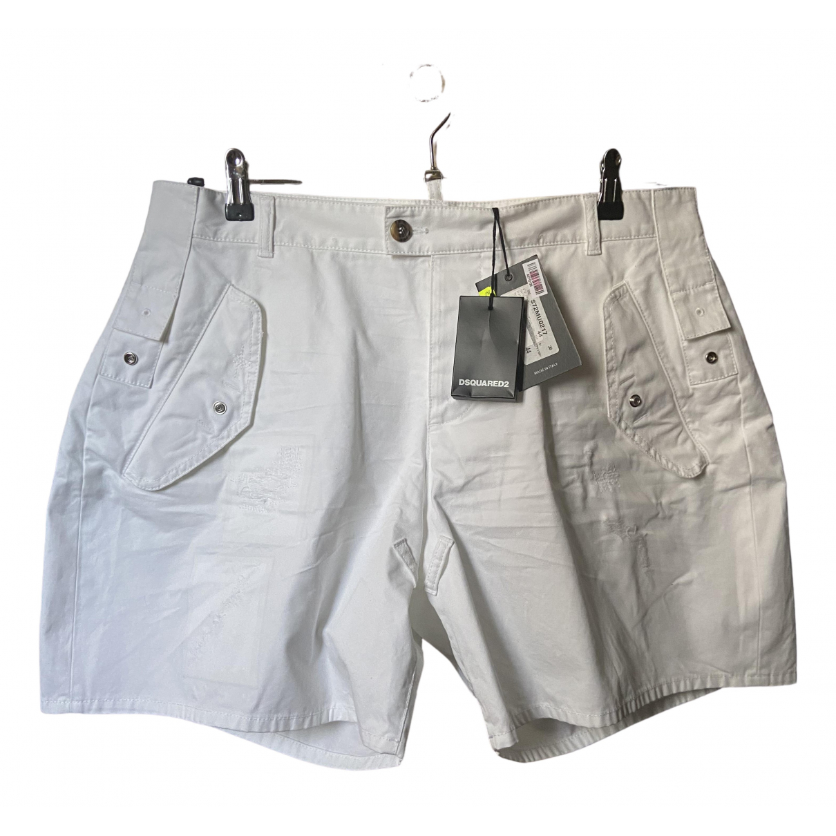 Dsquared2 \N Shorts in  Weiss Baumwolle