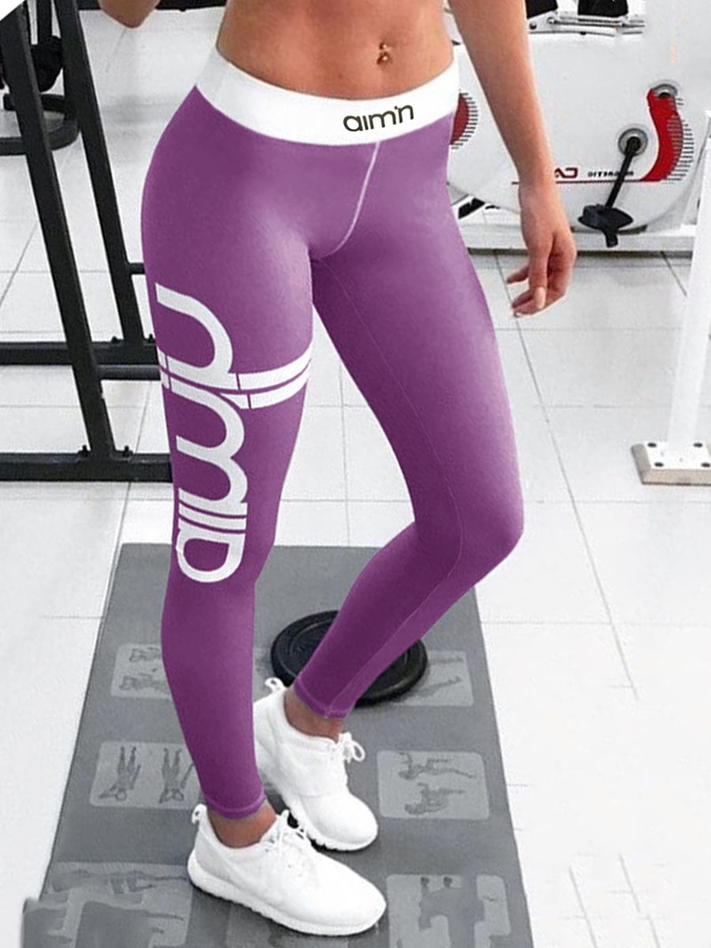Ericdress Letter Sports YOGA Women's Leggings Pants