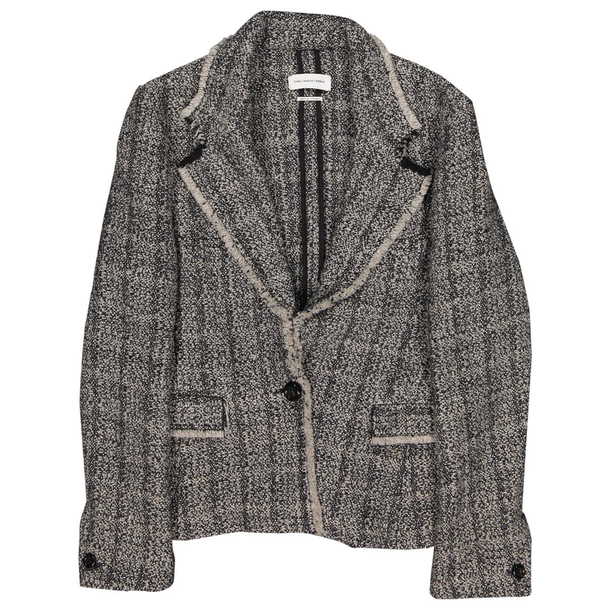 Isabel Marant Etoile \N Grey Wool jacket for Women 44 FR