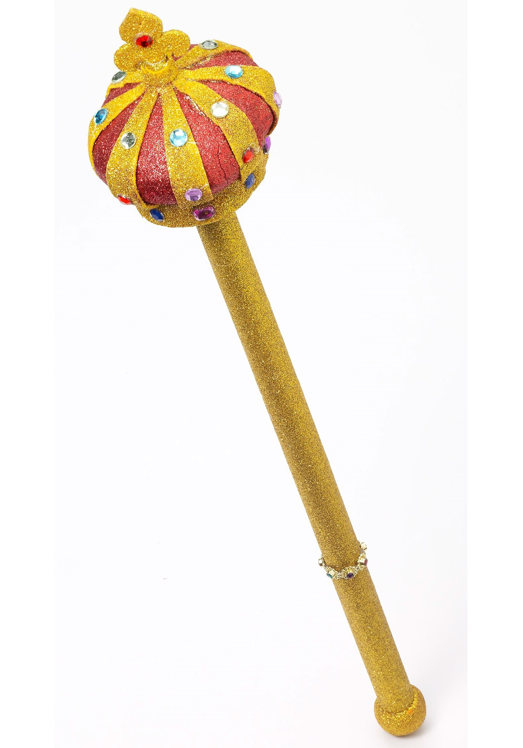 Royal Scepter with Gold Glitter
