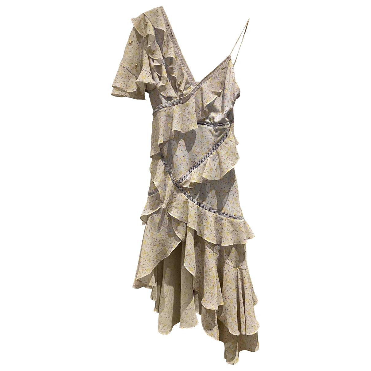 Acler \N Kleid in  Lila Polyester