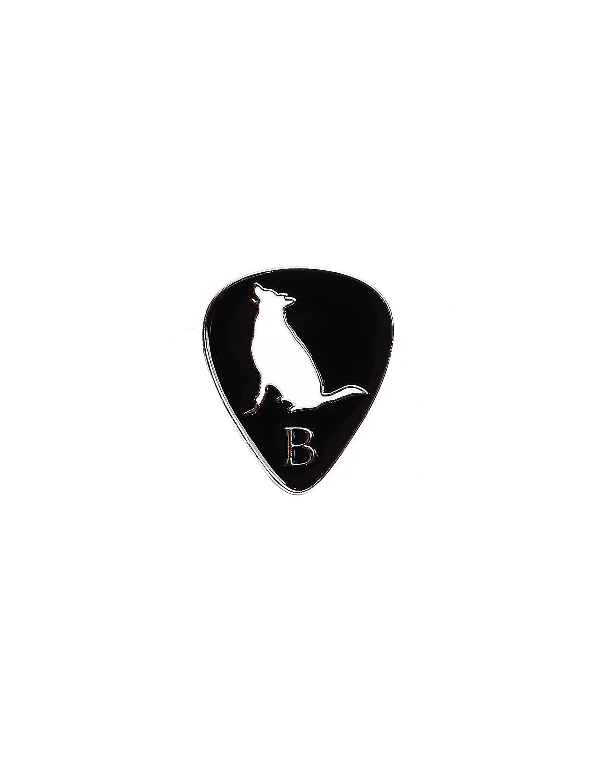 Yohji Yamamoto Guitar Pick Pin Badge