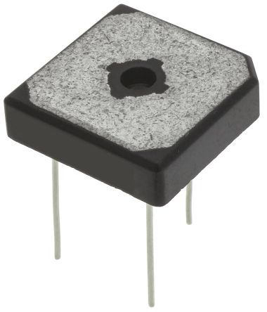 ON Semiconductor GBPC1508W, Bridge Rectifier, 15A 800V, 4-Pin GBPC-W (50)