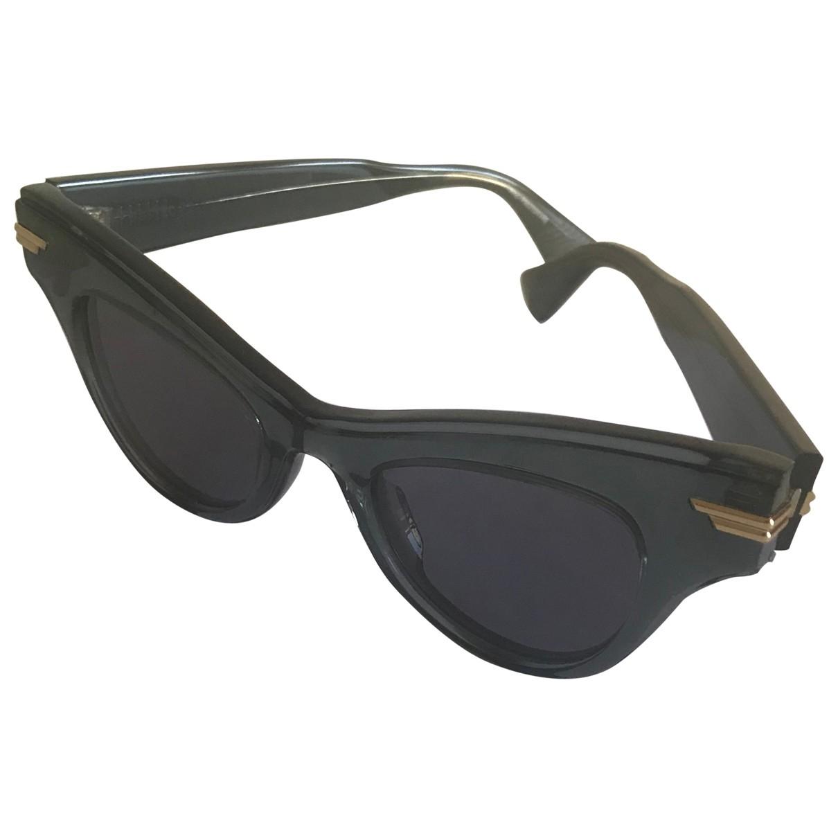 Bottega Veneta \N Sonnenbrillen in  Blau Kunststoff