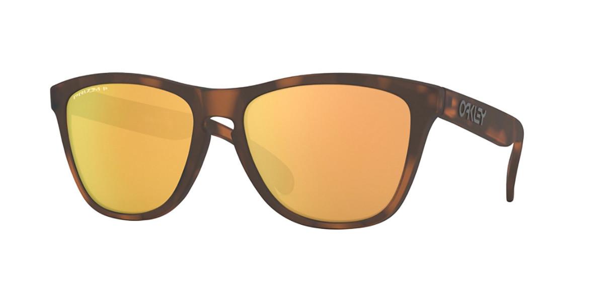 Oakley OO9013 FROGSKINS Polarized 9013G0 Men's Sunglasses Tortoise Size 55