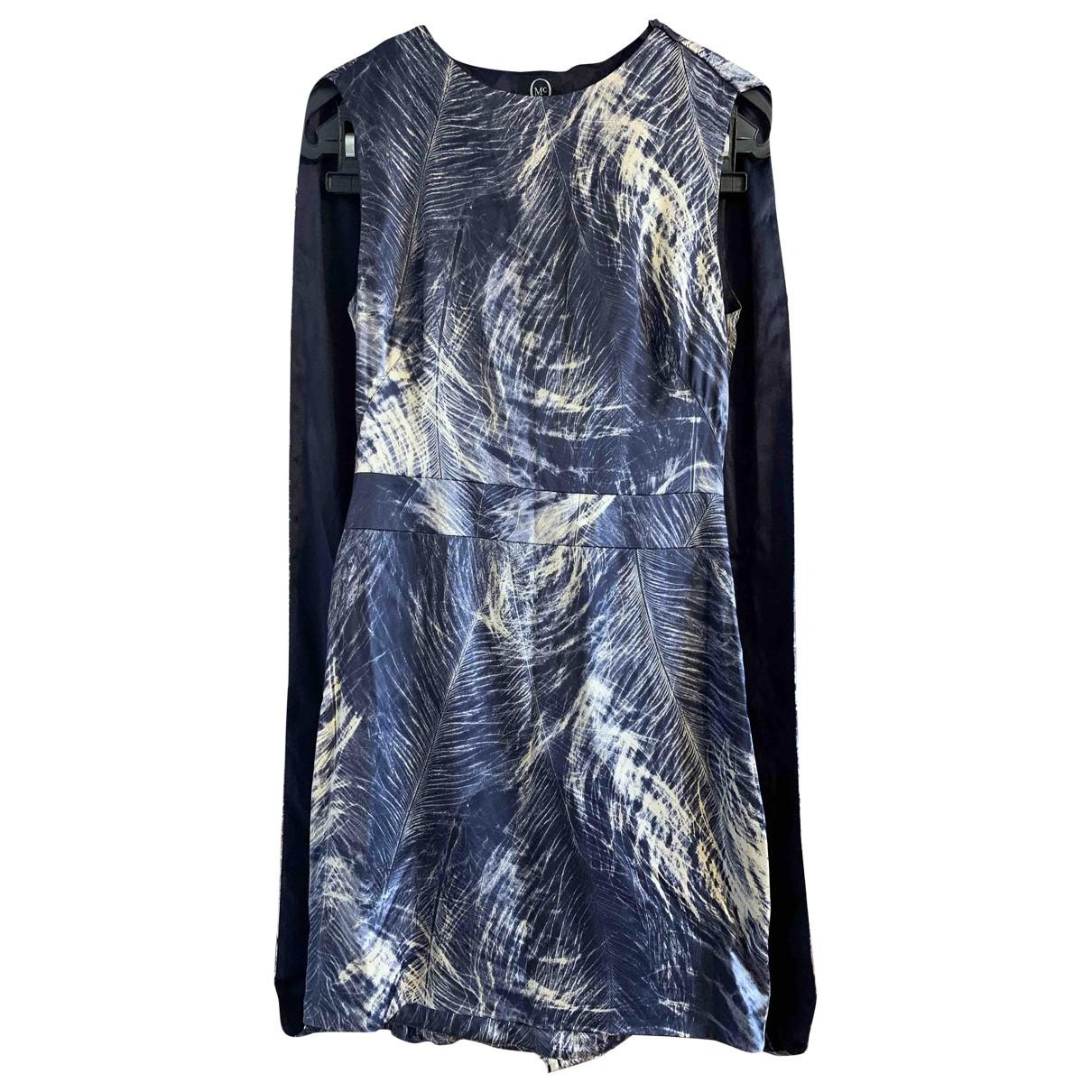 Mcq \N Kleid in  Blau Seide