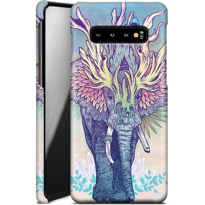Samsung Galaxy S10 Plus Smartphone Huelle - Spirit Elephant  von Mat Miller