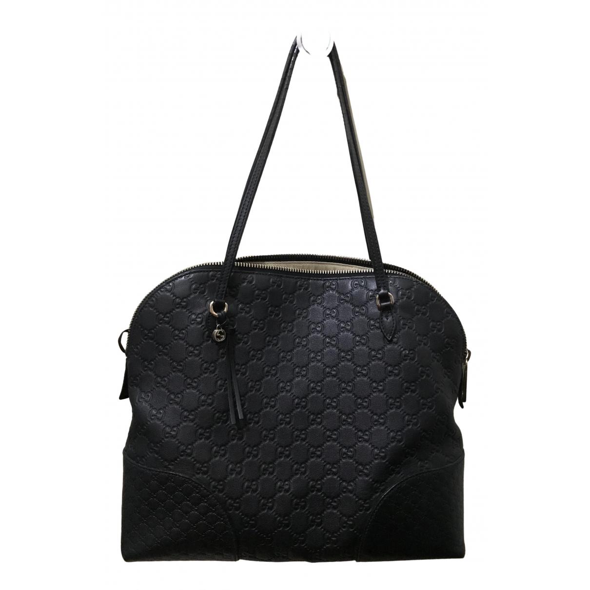 Gucci Dome Handtasche in  Schwarz Leder