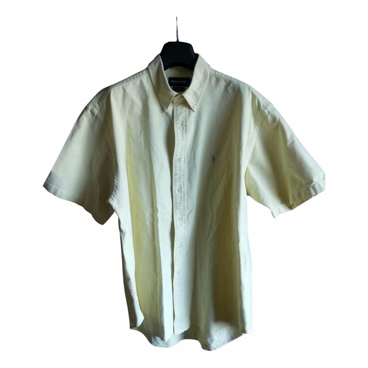 Polo Ralph Lauren \N Yellow Cotton Shirts for Men XL International