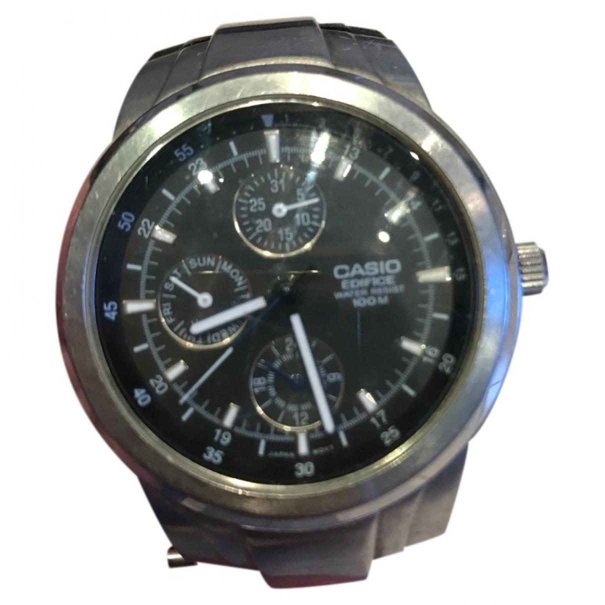 Casio \N Blue Steel watch for Men \N