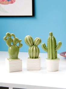 Cactus Pot Decorative Object