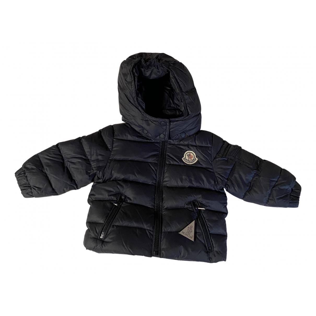 Moncler Hood Blue jacket & coat for Kids 6 months - up to 67cm FR