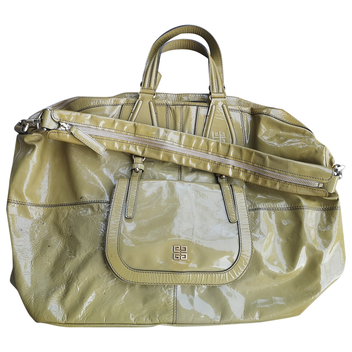 Givenchy \N Patent leather handbag for Women \N