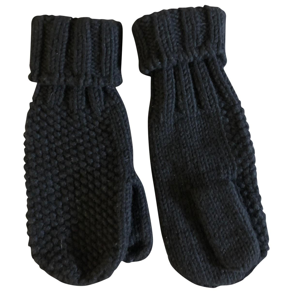 Malo \N Handschuhe in  Blau Kaschmir