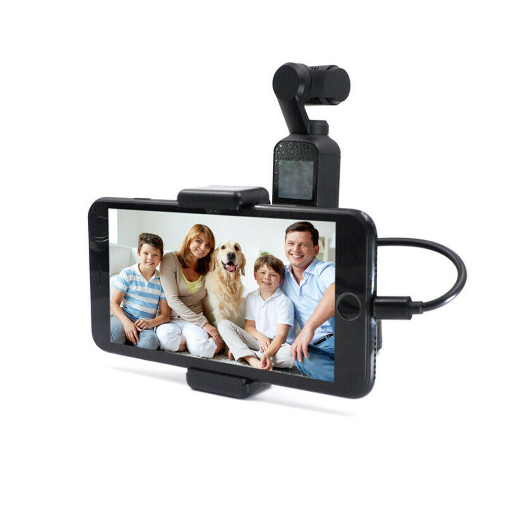 STARTRC ABS Phone Clip Holder For DJI OSMO Pocket Handheld FPV Camera