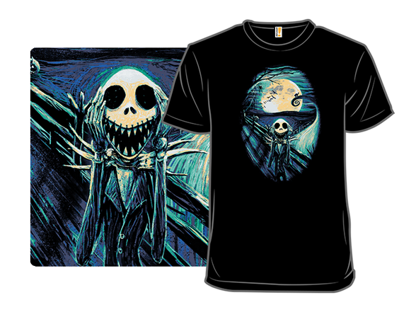 The Scream Before Christmas T Shirt