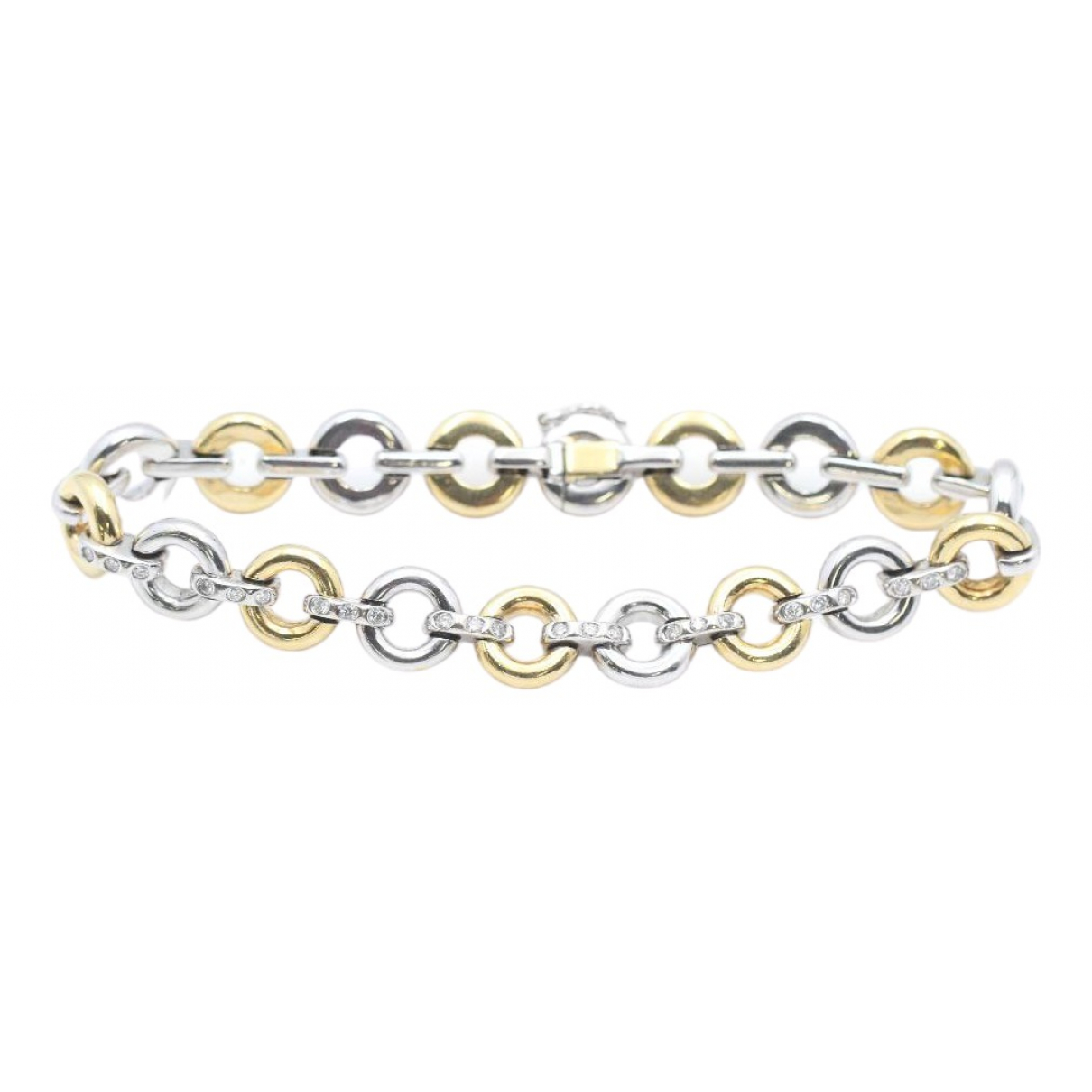 Non Signe / Unsigned \N Armband in Weissgold