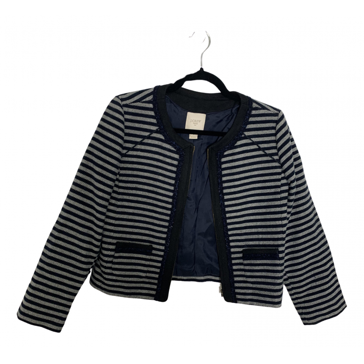 J.crew N Navy Wool jacket for Women 6 US