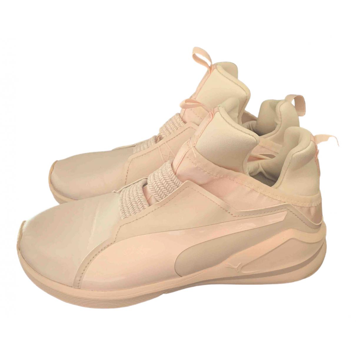 Puma \N Sneakers in  Rosa Leder