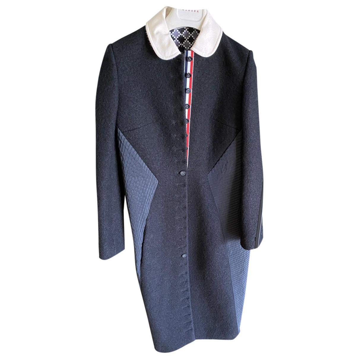 Thom Browne N Black Wool coat for Women 1 US