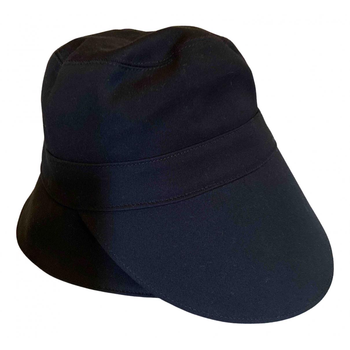 Cos - Chapeau   pour femme en coton - bleu