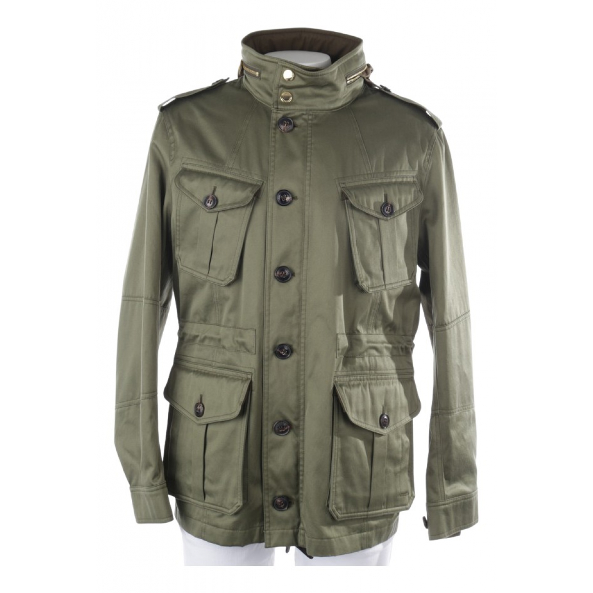 Burberry \N Green Cotton jacket for Women 40 FR