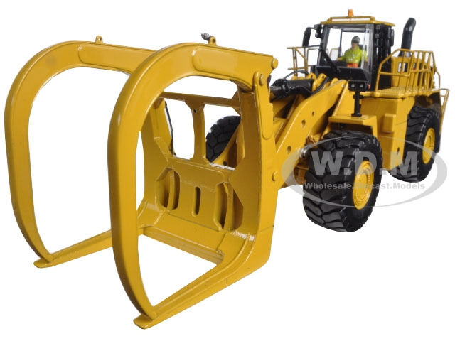 CAT Caterpillar 988K Wheel Loader with Grapple with Operator