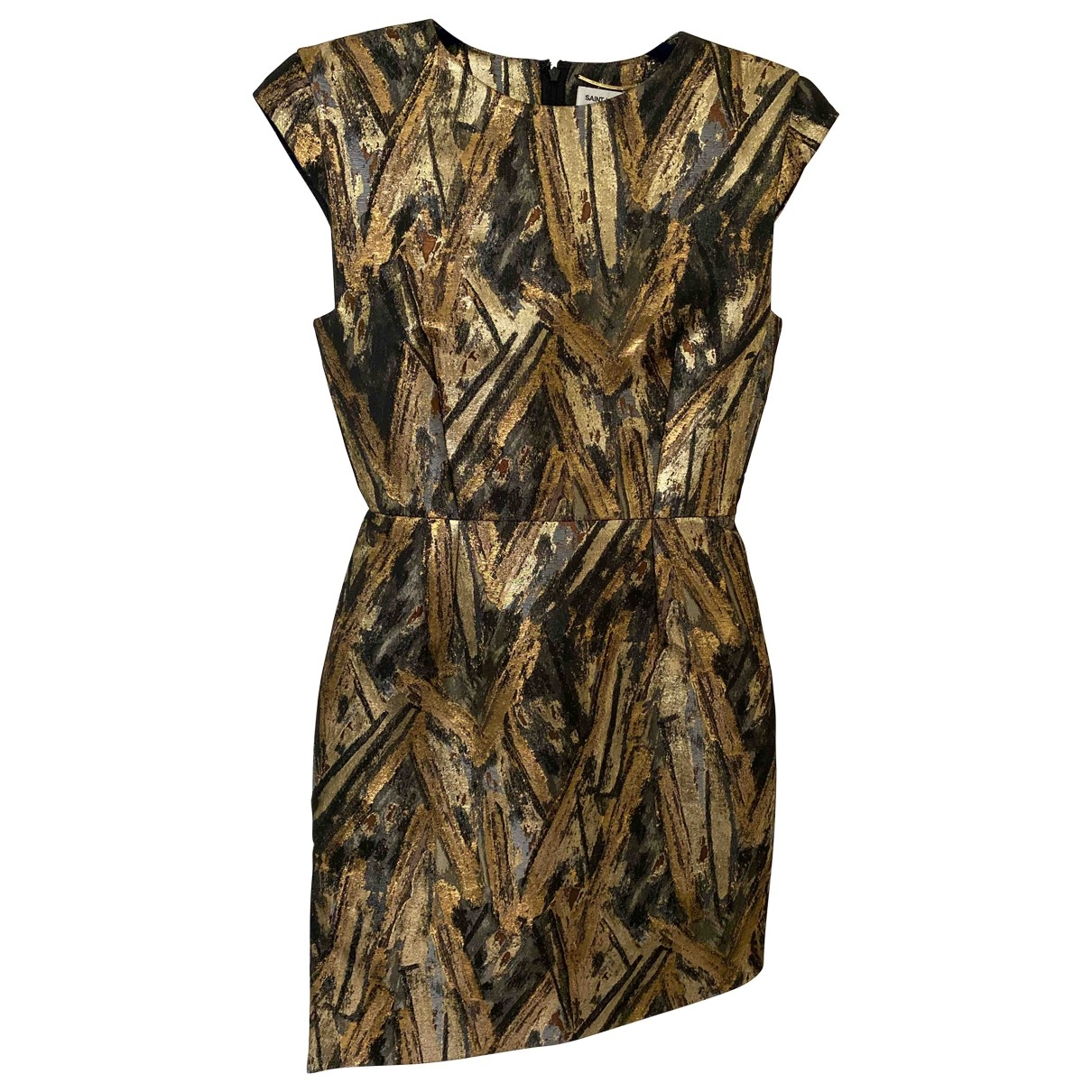 Saint Laurent \N Gold dress for Women 38 FR