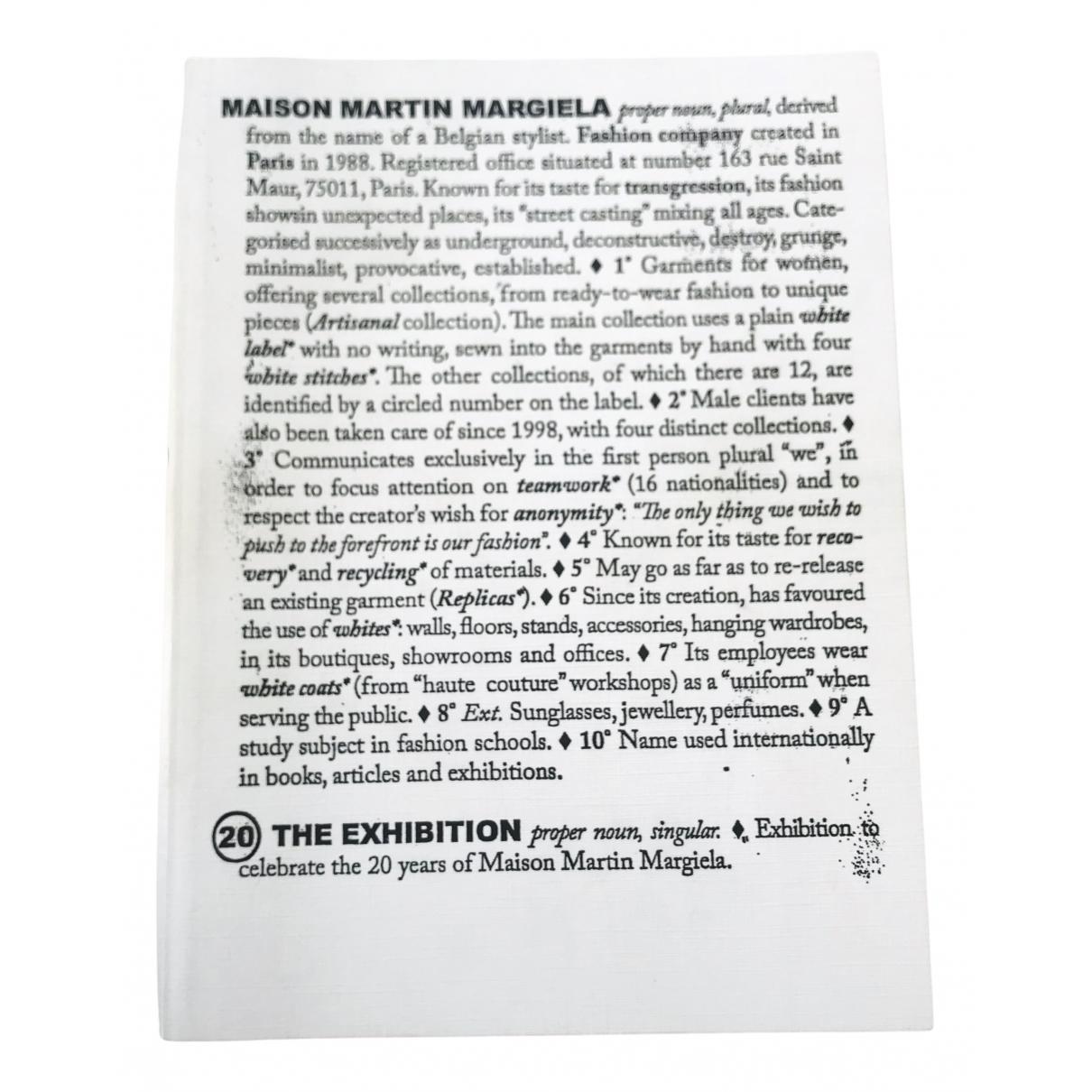 Maison Martin Margiela - Mode   pour lifestyle en autre - blanc