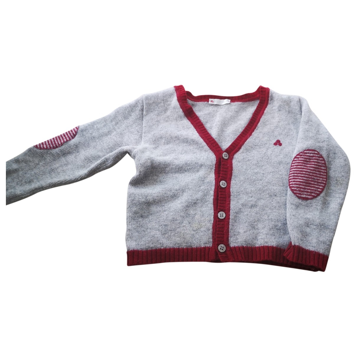 Peuterey \N Grey Wool Knitwear for Kids 2 years - up to 86cm FR