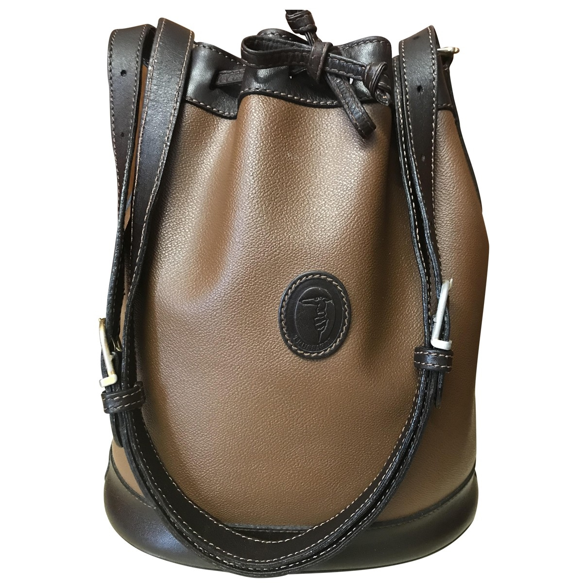 Trussardi \N Brown Cloth handbag for Women \N