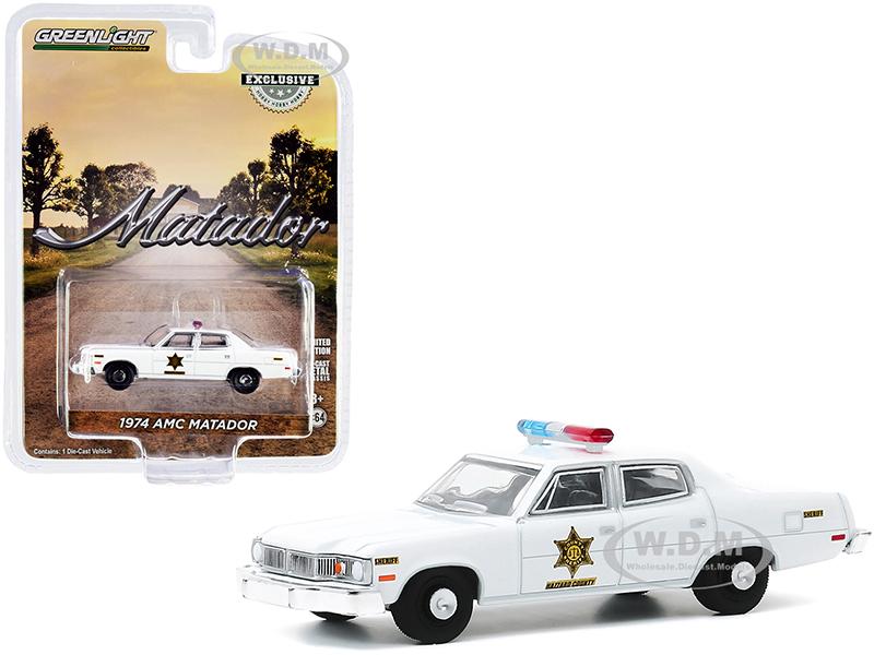1974 AMC Matador White