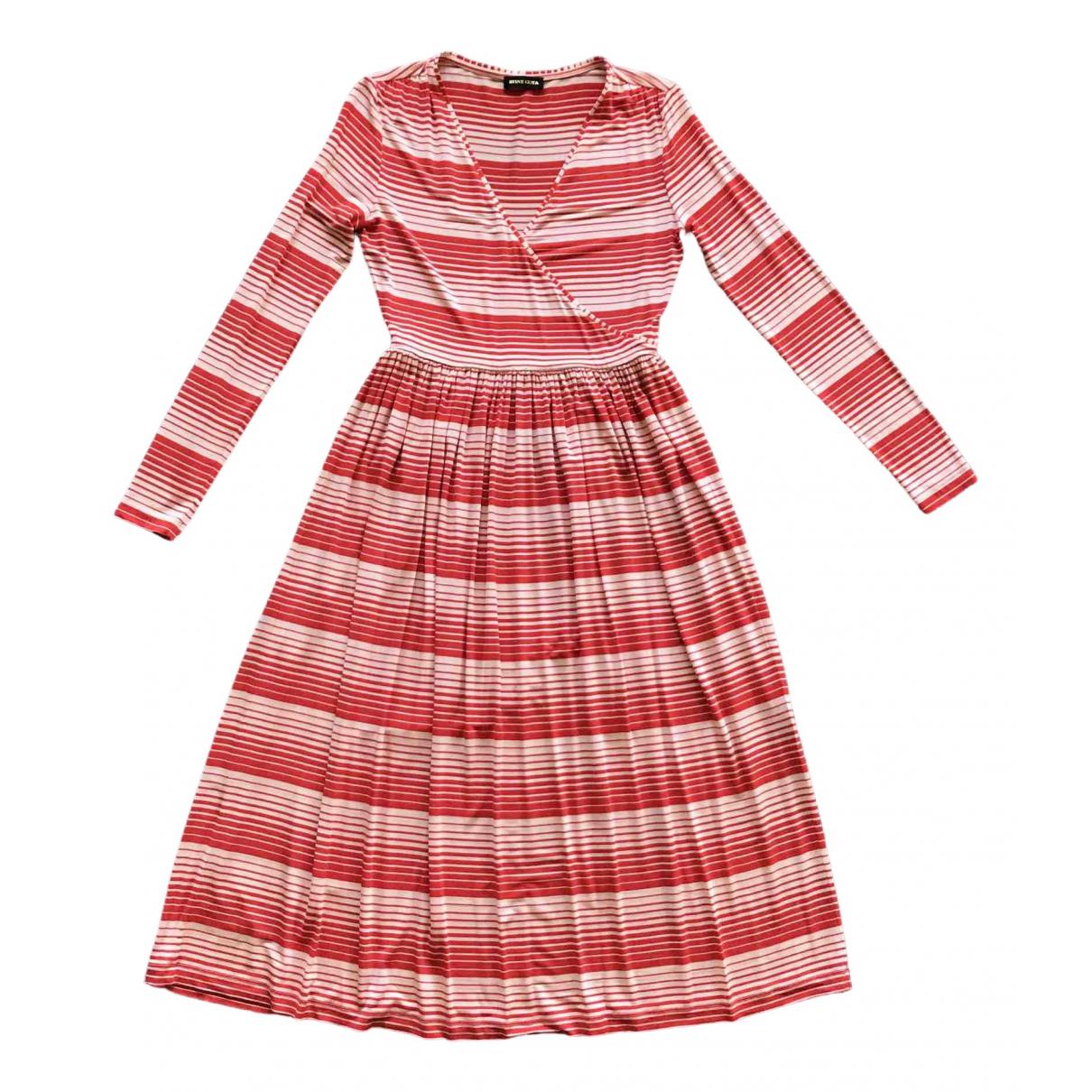 Stine Goya \N Kleid in  Rot Viskose