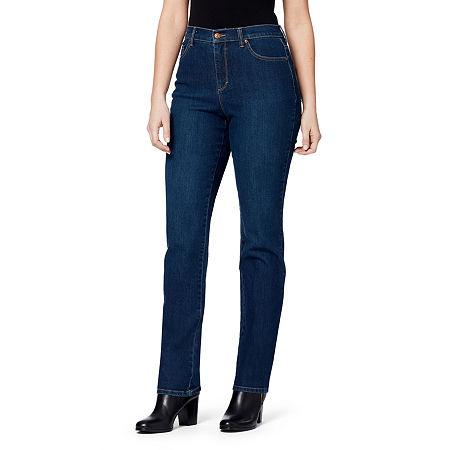 Gloria Vanderbilt Amanda Jeans, 8 Petite Short , Blue