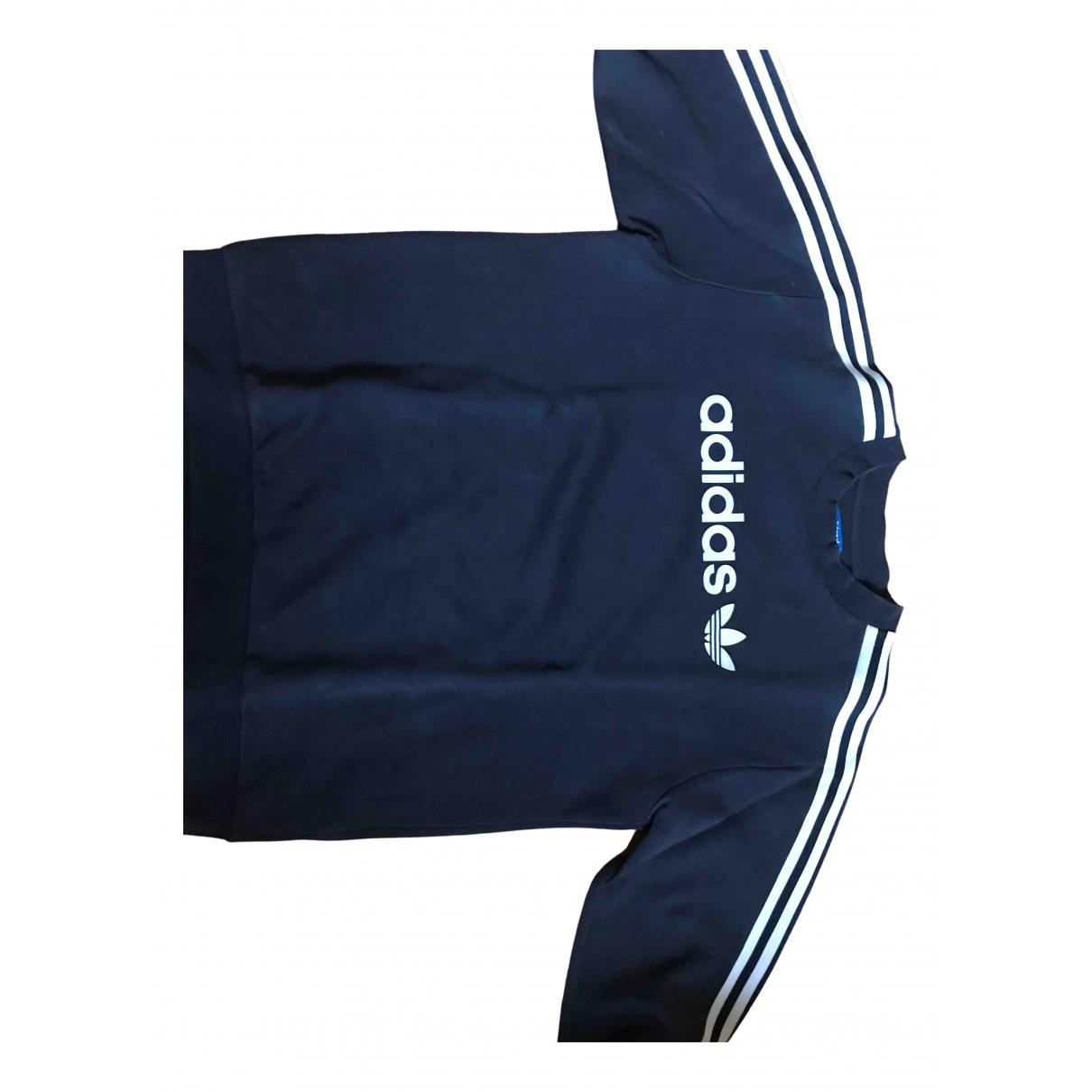 Adidas \N Black Cotton Knitwear & Sweatshirts for Men M International