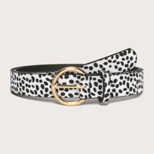 Guertel mit Dalmatiner Muster