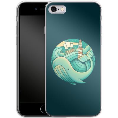 Apple iPhone 6 Silikon Handyhuelle - Into The Ocean von Enkel Dika