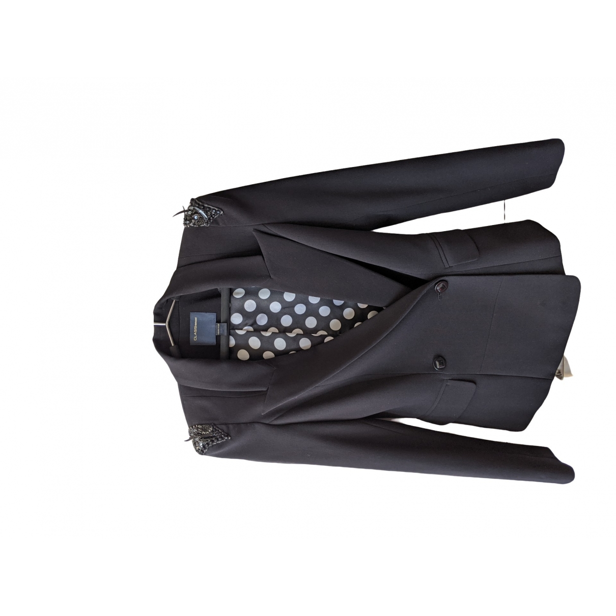 Class Cavalli \N Black jacket for Women 40 IT