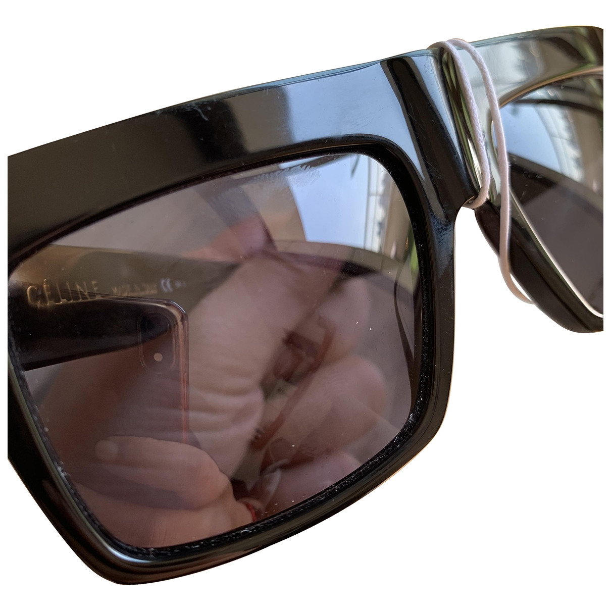 Celine Shadow Sonnenbrillen in  Schwarz Kunststoff
