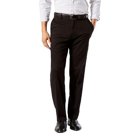 Dockers Big & Tall Classic Fit Easy Khaki Pants D3, 36 38, Black