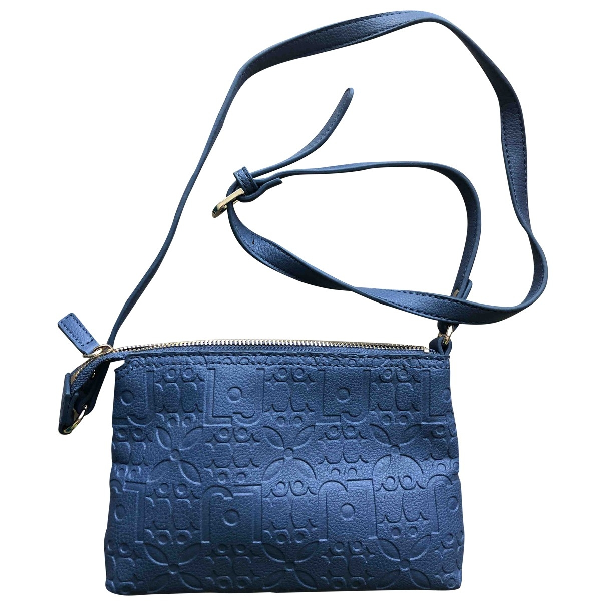 Liu.jo \N Clutch in  Blau Polyester