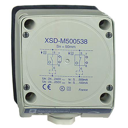 Telemecanique Sensors Inductive Sensor - Block, NO/NC Output, 60 mm Detection, IP67, PG 13.5 Gland Terminal