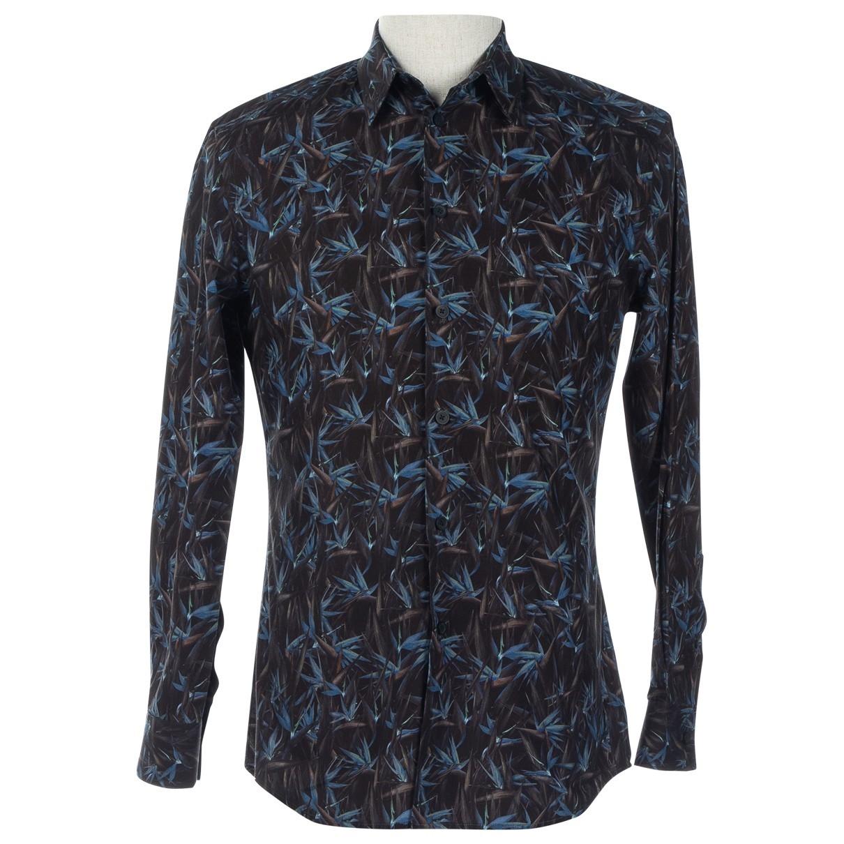 Givenchy \N Black Cotton Shirts for Men S International